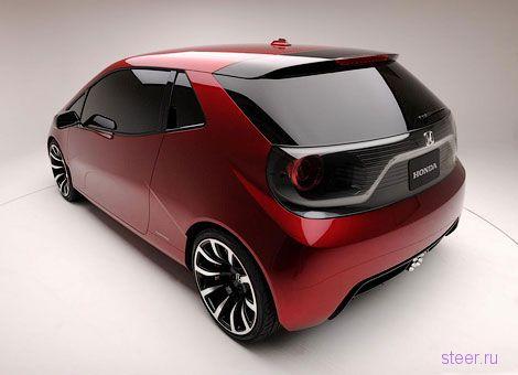 Honda показала компакт-кар для хипстеров