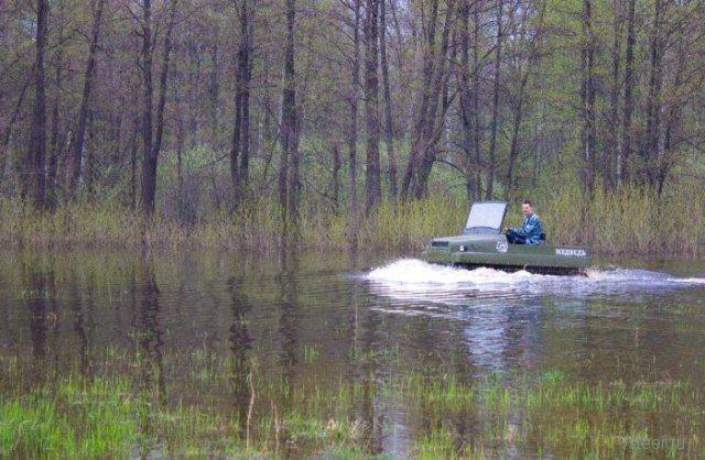 Вездеход Медведь для охоты и рыбалки