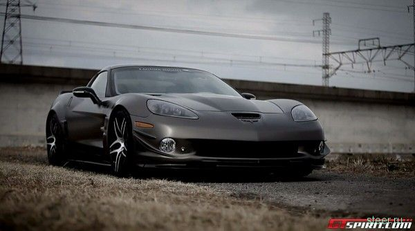 Corvette ZR1 в японском тюнинге