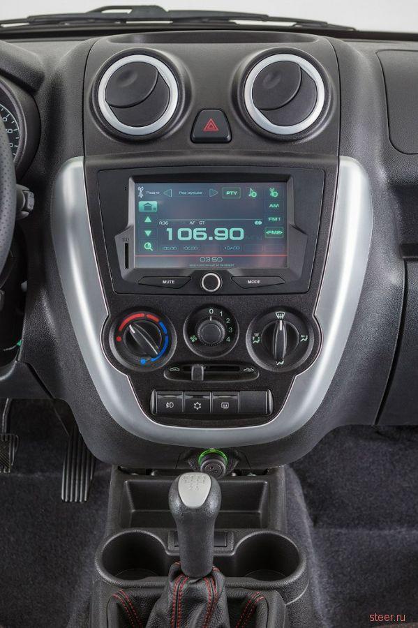 Опубликованы студийные фотографии серийной версии Lada Granta Sport