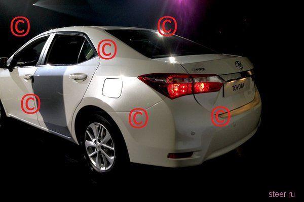 Новая Toyota Corolla – есть первые фото