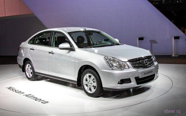 Компания Nissan объявила официальные цены на новый седан Almera : цены приятно удивили