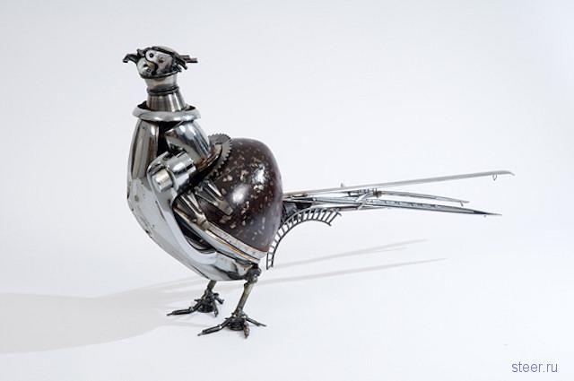 Австралийский художник James Corbett представляет: Вторая жизнь запчастей