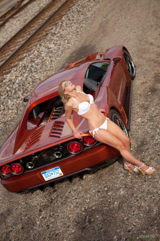 Девушка и машина: Falcon F7 & Beth Stalker