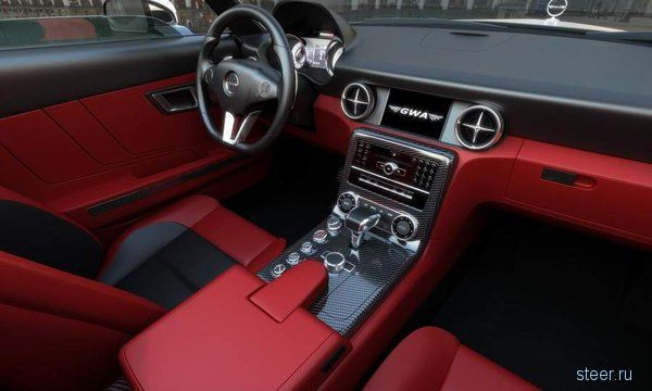 Mercedes SLS AMG превратили в ретрокар