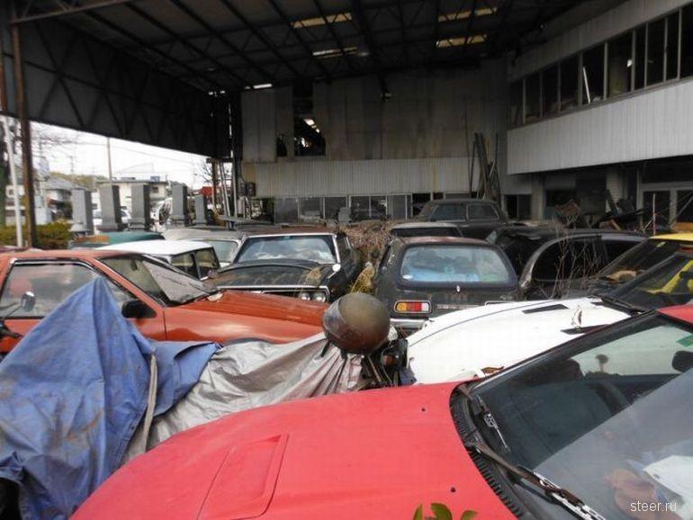 Японское кладбище автомобилей