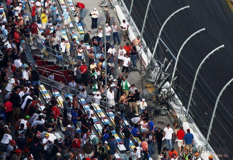 Зрелищные гонки в американском штате Флорида обернулись настоящим кошмаром.