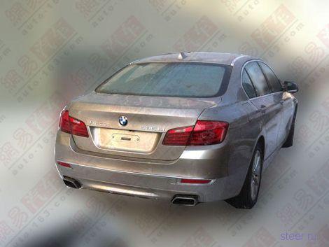 Китайские фотошпионы заметили обновленную пятерку BMW