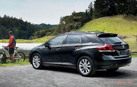 Кроссовер Toyota Venza доберется до России летом