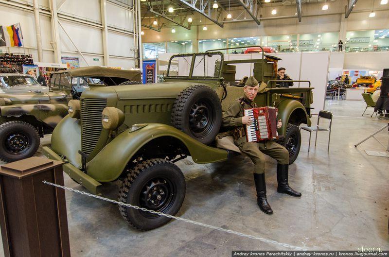 7 марта в Кроркус-Экспо открылась 21-я выставка Олдтаймер-галерея