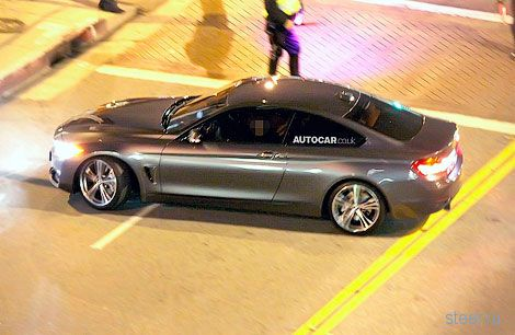 Серийную четверку BMW сфотографировали без камуфляжа