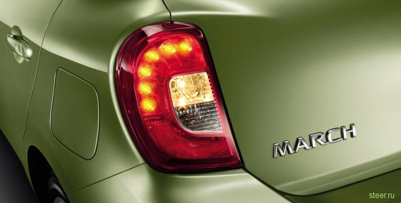 Nissan обновил March (Nissan Micra)