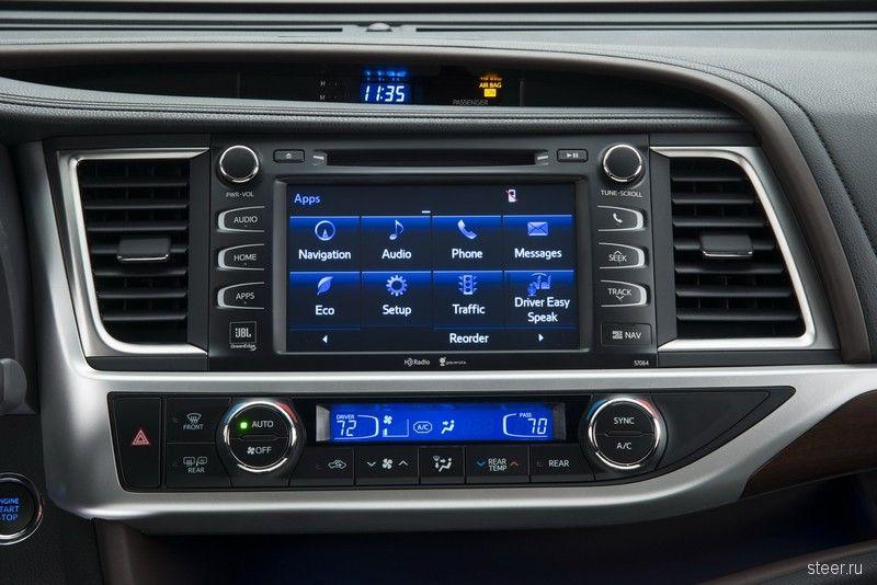 Нью-Йорк 2013. Toyota показала Highlander третьего поколения