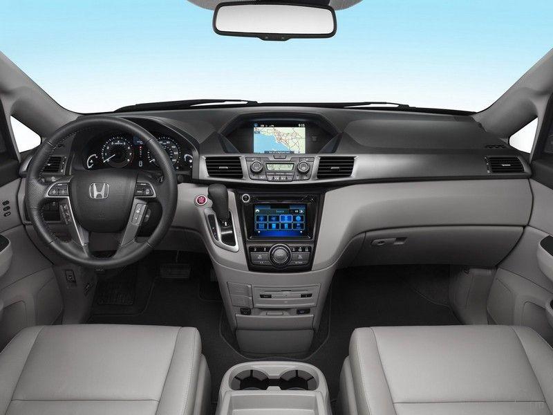 Honda Odyssey — впереди планеты всей: в минивэн встроен пылесос
