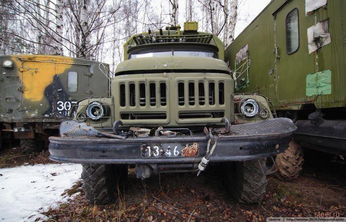 Прости, железо! Кладбище списанной военной техники.