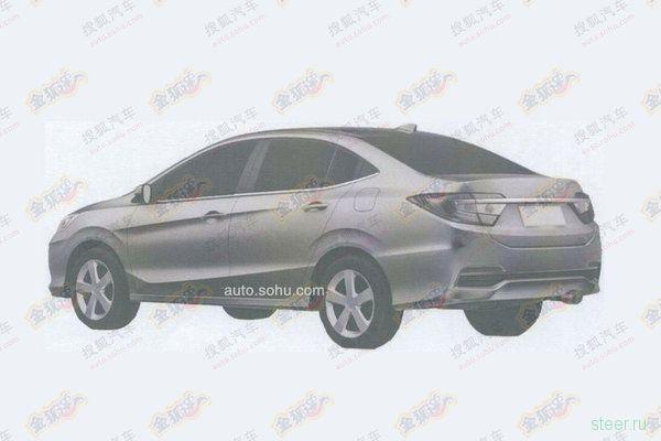 Новый седан Honda: первые фото