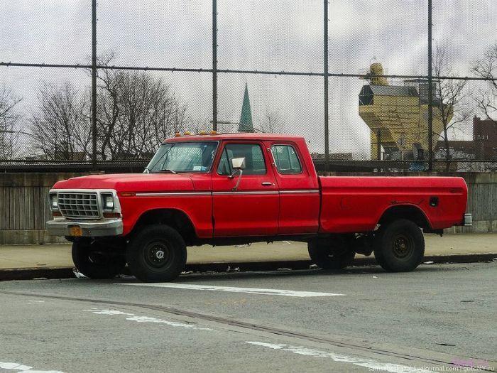 Винтажные авто Нью-Йорка