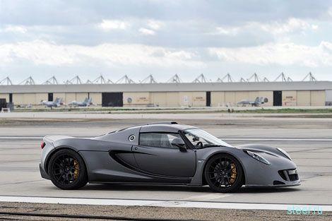Американский суперкар Hennessey Venom GT стал самым быстрым автомобилем в мире