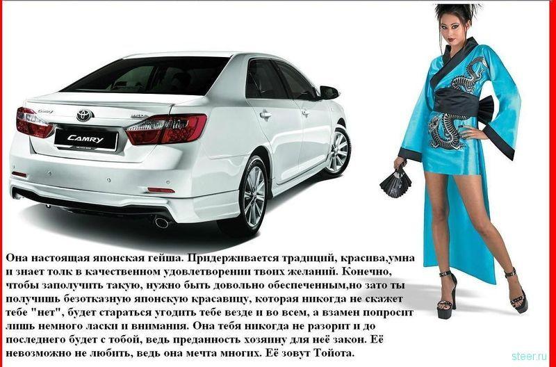 Если бы машины были девушками