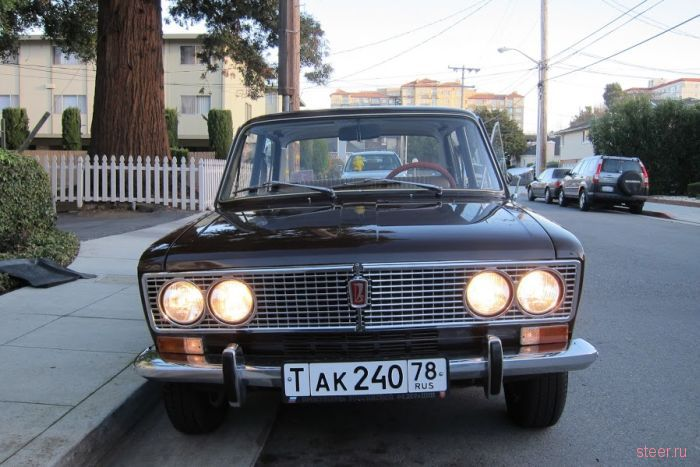 ВАЗ 2103 продается в Сан-Франциско