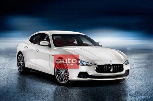 В интернет попали фотографии спорткара для бедных от Maserati