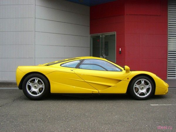 В Японии выставлен на продажу McLaren F1 с пробегом 0 миль