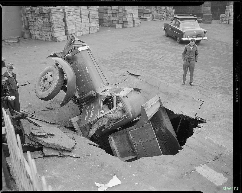 Автомобильные аварии 40-х годов