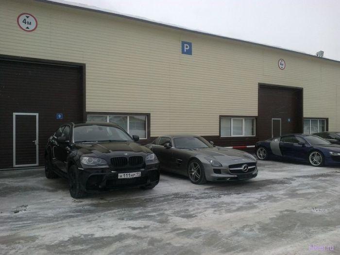 Коллекционирование эксклюзивных авто - хобби чиновника из Республики Коми