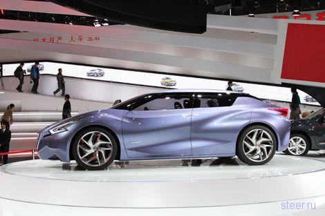 Nissan Friend-M : Ниссан встроил в автомобиль социальную сеть