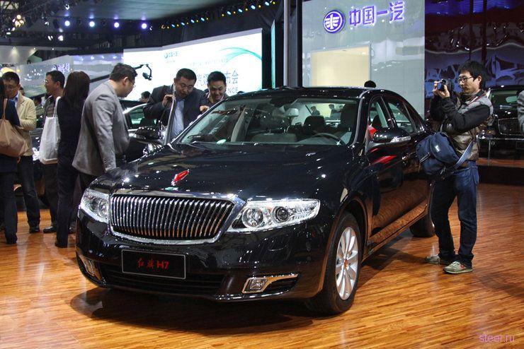 Hongqi : Китайский автомобиль за 1,5 миллиона долларов