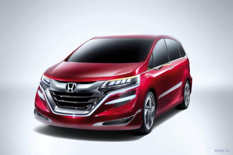 Honda Concept M : В модельном ряду Honda появится новый минивэн