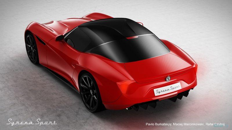 Группа польских энтузиастов разработала эксклюзивный спорткар FSO Syrena Sport на базе Nissan 370Z