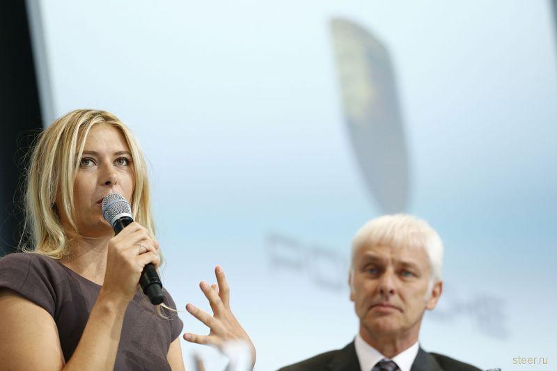 Теннисистка Мария Шарапова стала послом марки Porsche