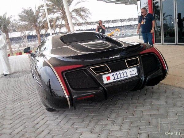 Единственный в мире McLaren X-1 был замечен в Бахрейне