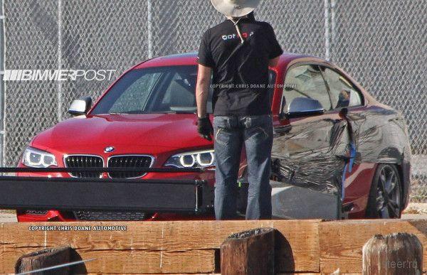Автошпионы добыли фотографии новой BMW M235i