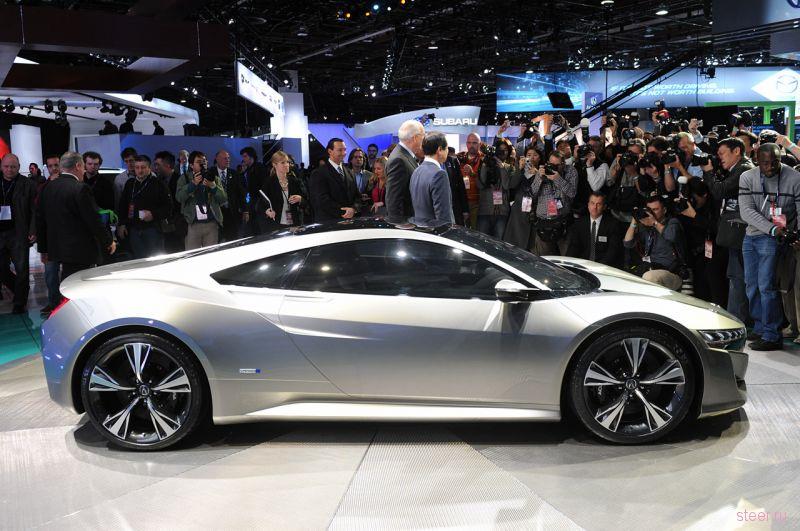 Honda запустит производство нового поколения спорт-кара NSX в США