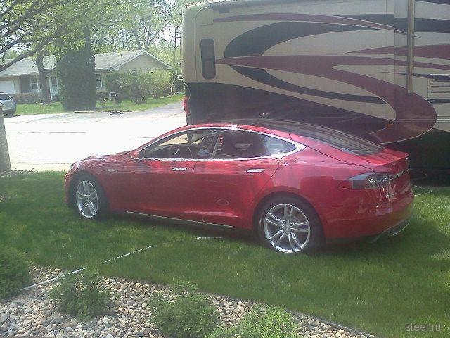 Новая Tesla - фотоотчет первого владельца