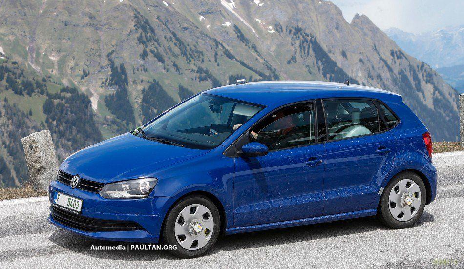 Первые фото обновленного VW Polo