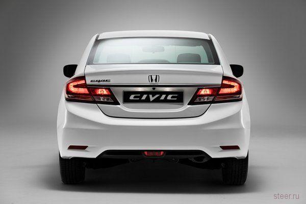 Обновлённый Honda Civic: известны российские комплектации