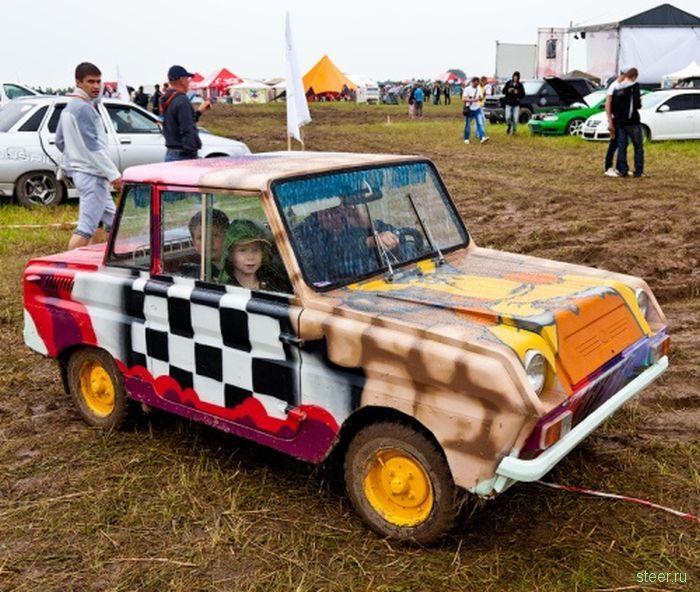 Очень странные авто