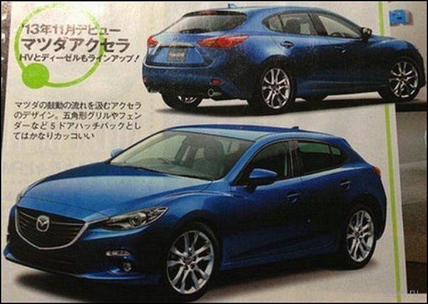 Новая Mazda3: секретов больше нет