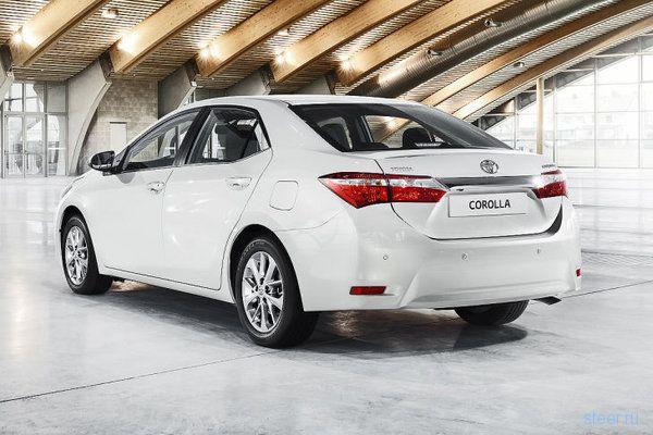 Новая Toyota Corolla: официальная информация и фото