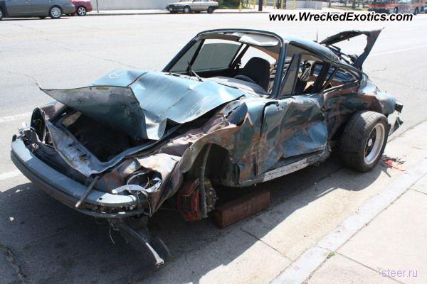 Porsche 911 Turbo: Восстановлению не подлежит