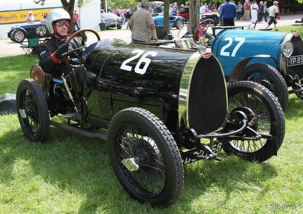 Уникальный Bugatti разбили на гонках