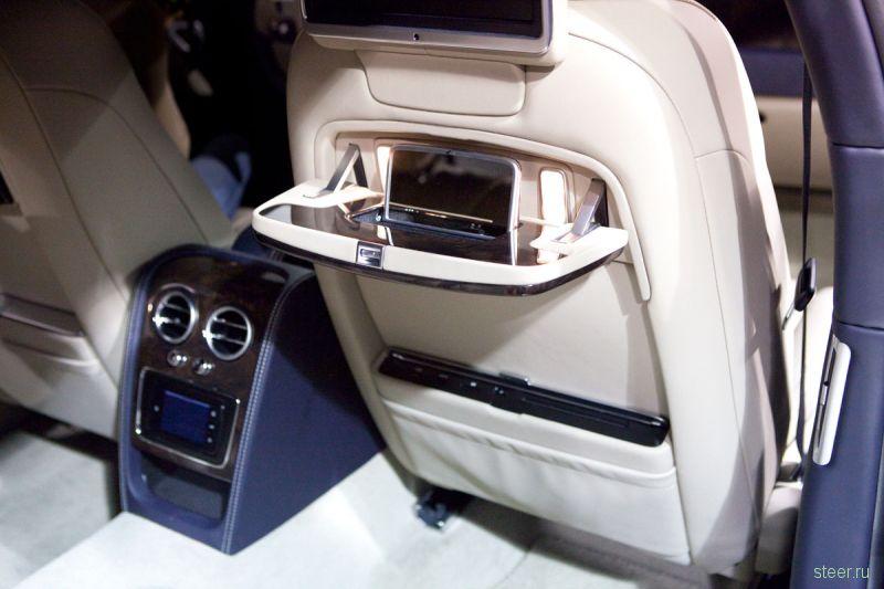 В Москве состоялась российская премьера Bentley Flying Spur стоимостью 10 900 000 рублей
