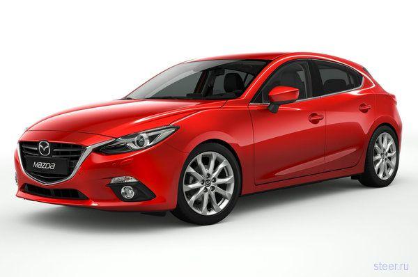 Новая Mazda 3: первые официальные фото