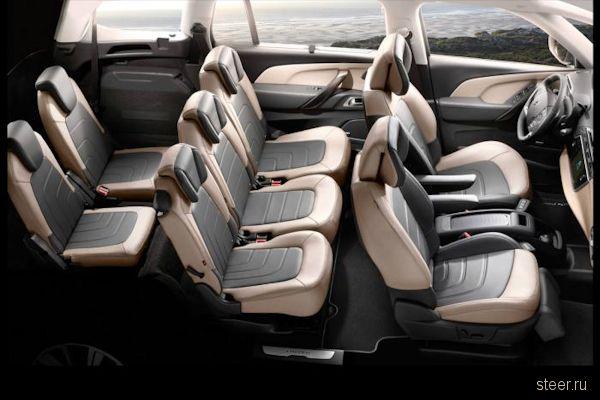 Новый Citroen Grand C4 Picasso: первые фото