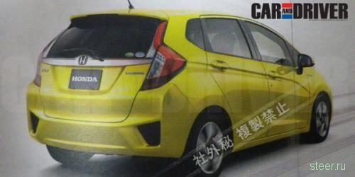 Первые изображения новой Honda Fit/Jazz