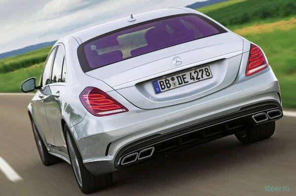 Фото и цены на Mercedes-Benz S63 AMG рассекретили в сети