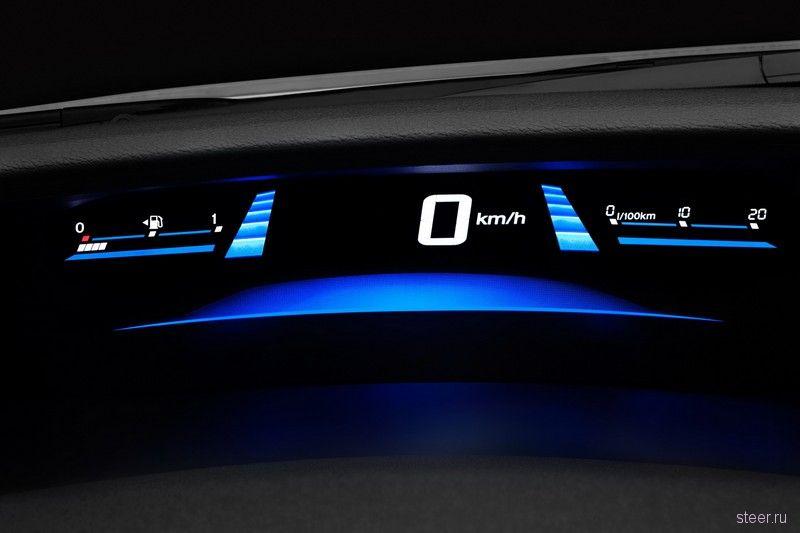 Российская Honda представила обновленный седан Civic